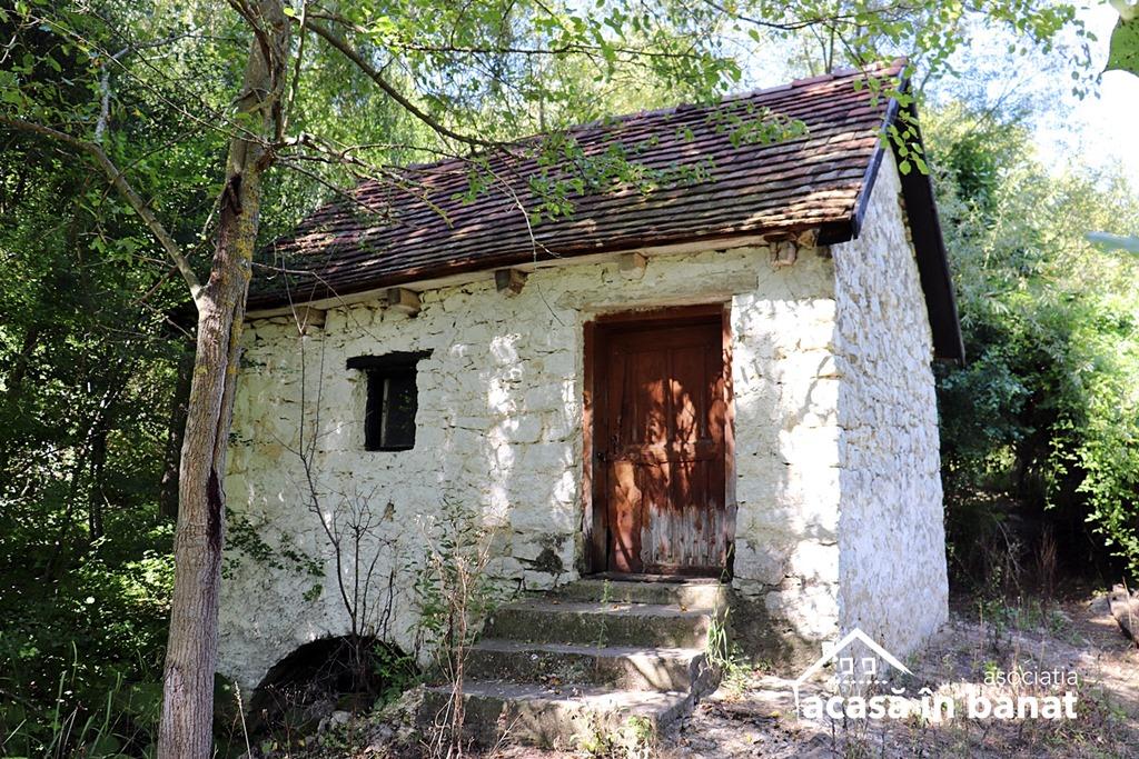 Morile de apă din zona Oravița. Moară de apă din Ilidia