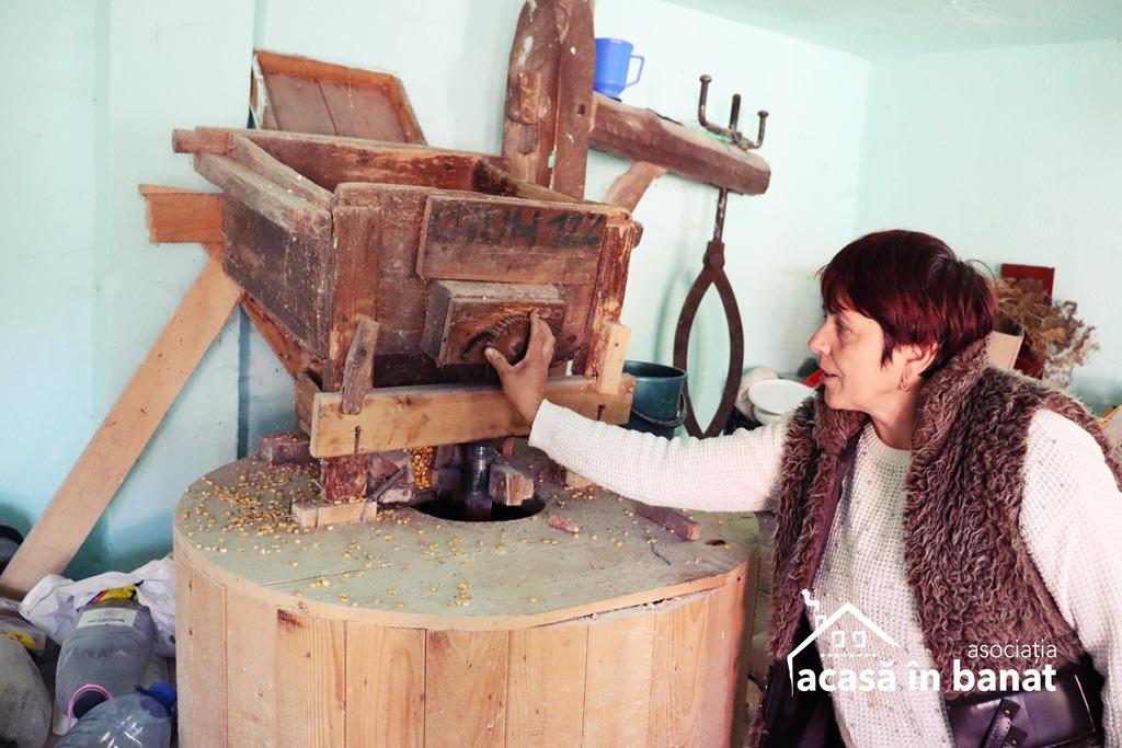 Morile de apă din zona Caransebeș. Moara de apă din localitatea Măru