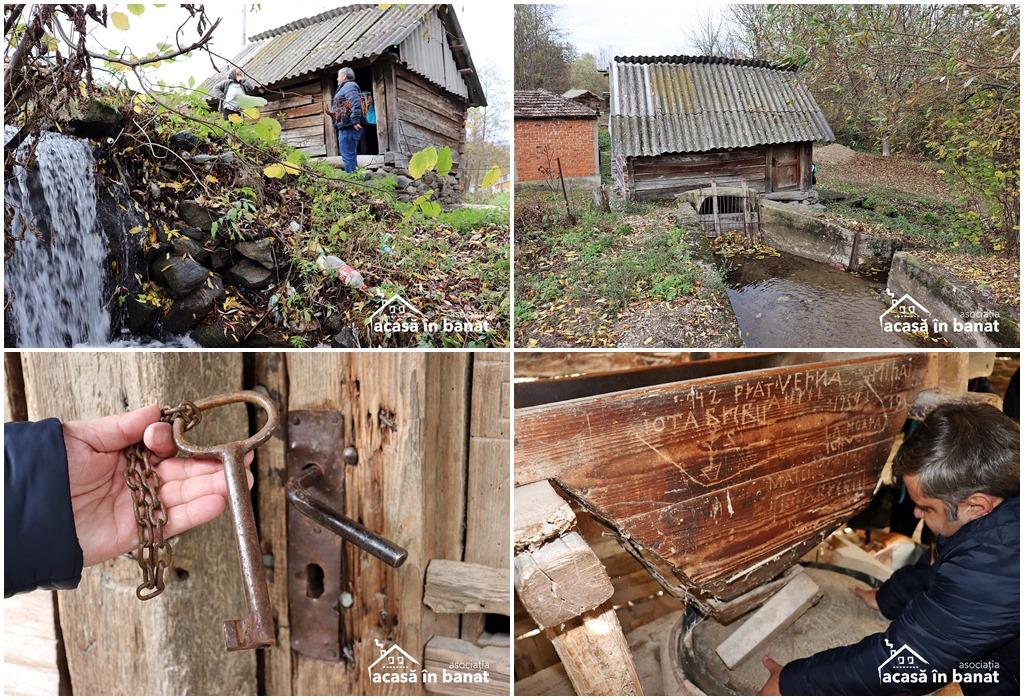 Morile de apă din Șopotu Vechi. Moara Pleșoanea din Sopotu Vechi