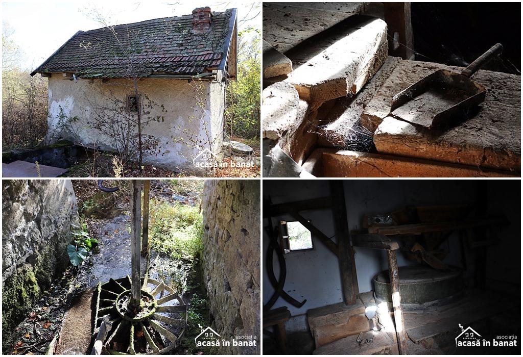 Morile de apă din Răcășdia - Moara din sat
